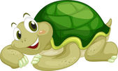 Animated turtle — Stock Vector