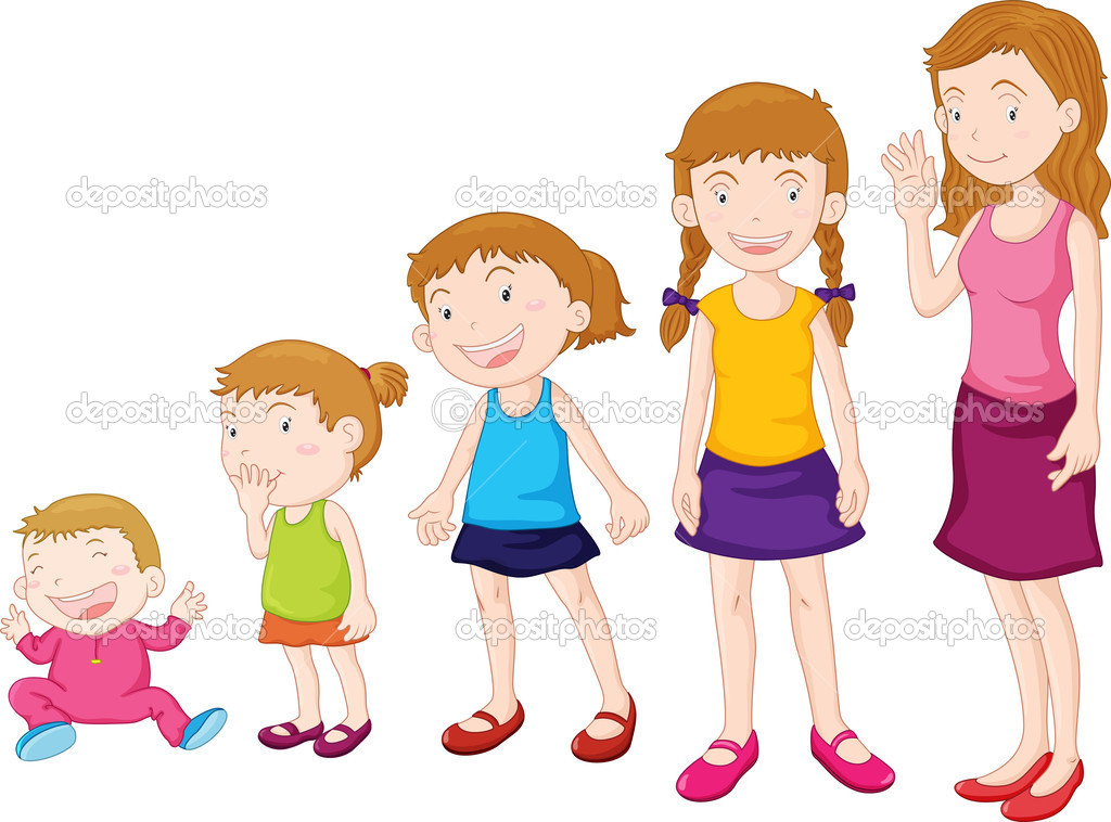 Growing Up Stock Vector 169 Interactimages 10278340