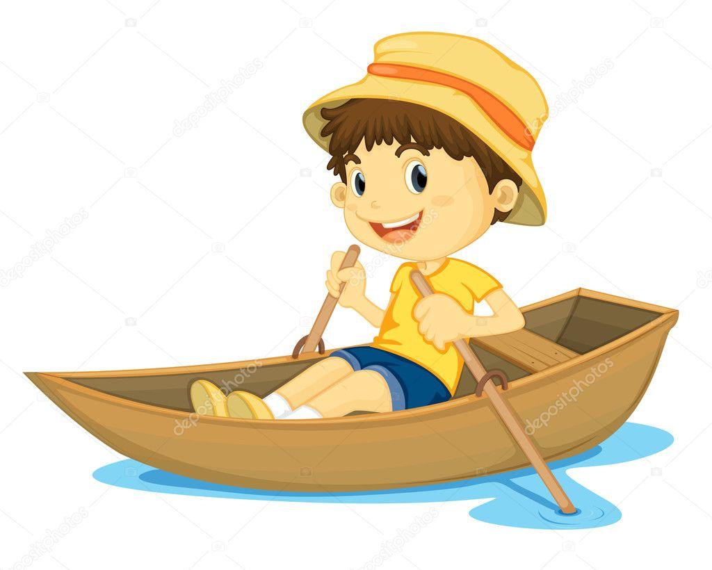 в одной лодке 2 мальчика и 4 девочки