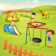Playground — Stock Vector #10387667