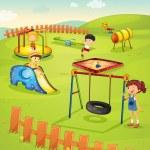 Playground — Stock Vector