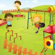 Playground — Vector de stock #10387724