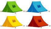 Tents — Stock Vector