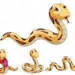 Snake series — Stock Vector #10443912