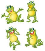青蛙系列 — 图库矢量图片