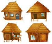 Série de hutte — Vecteur