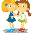 Two friends — Stock Vector #10481555