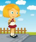 Gotowy do szkoły — Wektor stockowy