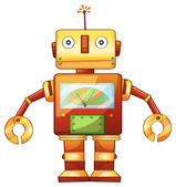Robot — Vector de stock