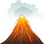 Erupt — Stock Vector #10593657