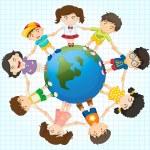 Global diversity — Stock Vector