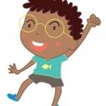 Cute child illustration — Stock Vector #10595822