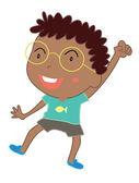 Cute child illustration — Stock Vector