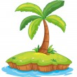 Royalty-Free Stock Vector Image: Island paradise