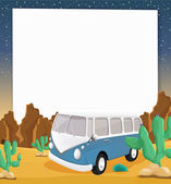 Camper paper — Stock Vector