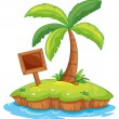 Royalty-Free Stock Vector Image: Island