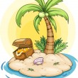 Island - Stock Vector