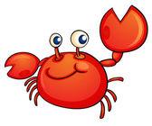 Crabby — Stock Vector