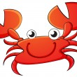 Crab cartoon — Stock Vector