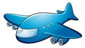Jumbo jet — Stock Vector