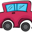 Royalty-Free Stock Vector Image: Toy car