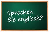 Do you speak English — Stock Vector