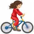 Royalty-Free Stock Vector Image: Cycling