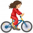 Cycling - Imagen vectorial