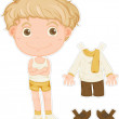 Royalty-Free Stock Imagen vectorial: A Boy