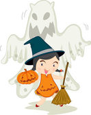 Witch — Stock Vector