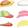 Hats — Vector de stock #9960177