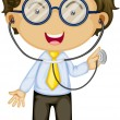 A Doctor - Stock Vector