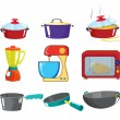 Royalty-Free Stock Vector Image: Pots and pans series