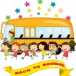 School Friends - Stock Vector