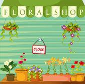 Florist — Stock Vector
