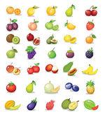 Frutas mistas — Vetorial Stock