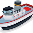 Vector de stock : Ship