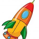 Rocket — Stock Vector #9993604