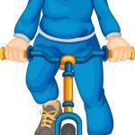 Fitness girl — Stock Vector #9993616