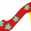 Royalty-Free Stock Imagen vectorial: Shoe