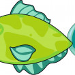 Vector de stock : Fish