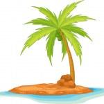 Coconut tree — Stock Vector #9994869