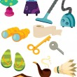 Stock Vector: Objects