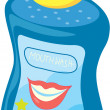 Mouth wash — Stock Vector