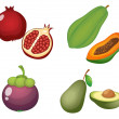 Fruits — Stock Vector #9995309