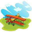 Aeroplane — Stock Vector
