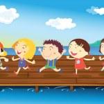 Kids — Stock Vector #9995647