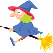 Witch — Stock Vector #9995950
