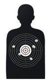 Juego blanco rifle — Vector de stock