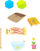 Objects — Stock Vector